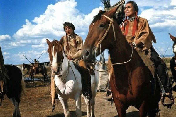 Dustin Hoffman and Chief Dan George in Little Big Man (Photo: Paramount)