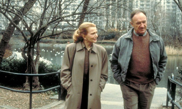 Gena Rowlands and Gene Hackman in Another Woman (Photo: Twilight Time)