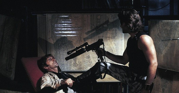 Harry Dean Stanton and Kurt Russell in Escape from New York (Photo: Embassy)