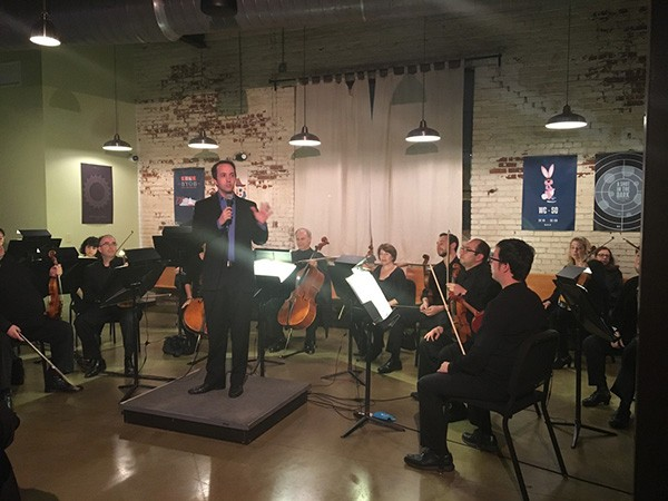 Conductor Christopher James Lees takes the Symphony to nontraditional venues.