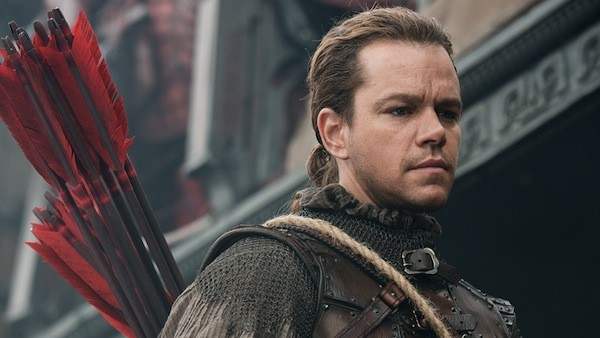 Matt Damon in The Great Wall (Photo: Universal)