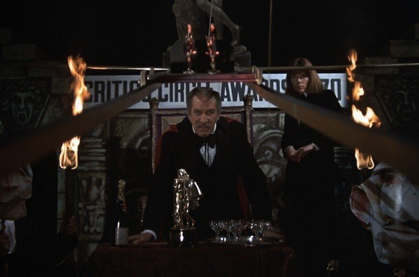 Vincent Price and Diana Rigg in Theatre of Blood (Photo: UA)