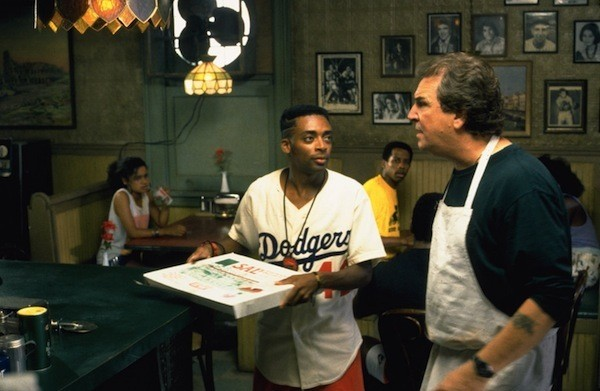 Spike Lee and Danny Aiello in Do the Right Thing (Photo: Universal)