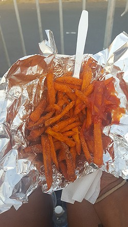 Sweet Potato Fries from Tastes Like Chicken.