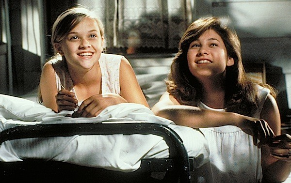 Reese Witherspoon and Emily Warfield in The Man in the Moon (Photo: Twilight Time)