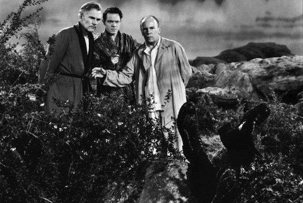 Walter Huston, Louis Hayward and Roland Young in And Then There Were None (Photo: VCI)
