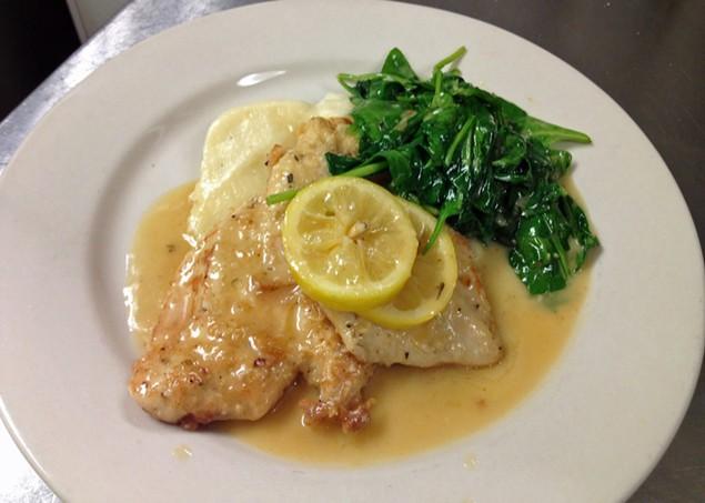 Sir Edmond's lemon chicken