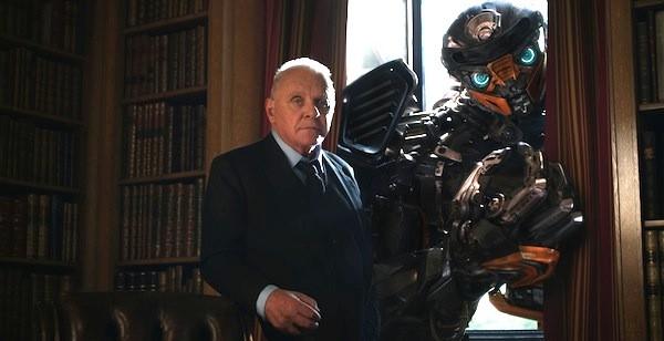 Anthony Hopkins in Transformers: The Last Knight (Photo: Paramount & Hasbro)