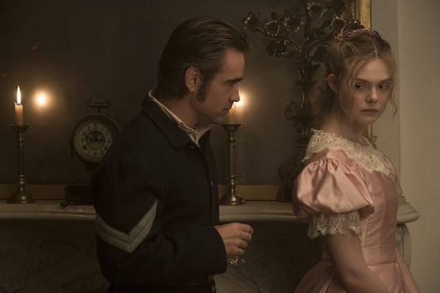 Colin Farrell and Elle Fanning in The Beguiled (Photo: Focus)