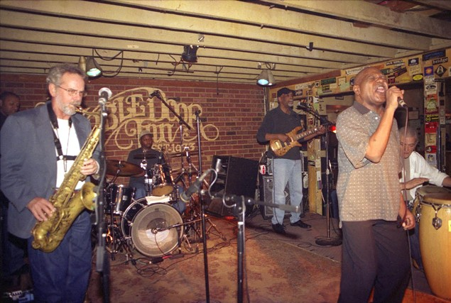 The Monday Night Allstars in 2008. (Photo by Daniel Coston)