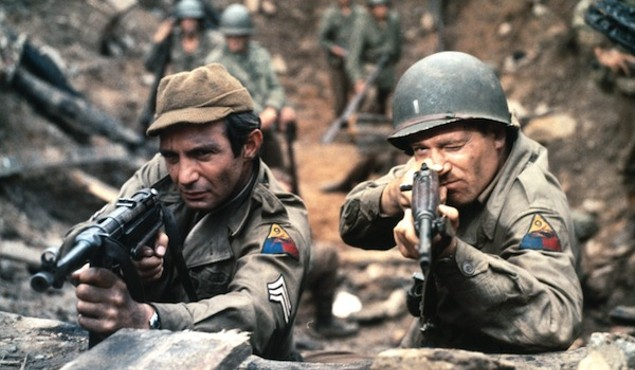 Ben Gazzara and George Segal in The Bridge at Remagen (Photo: Twilight Time)