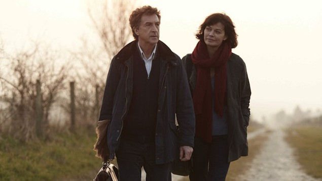 François Cluzet and Marianne Denicourt in The Country Doctor (Photo: Icarus Films)