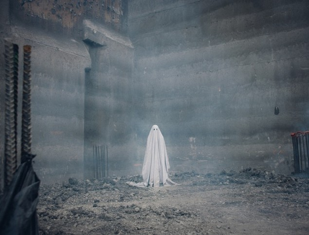 Casey Affleck in A Ghost Story (Photo: A24)