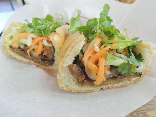 Le's Sandwich's Grilled Pork Banh Mi
