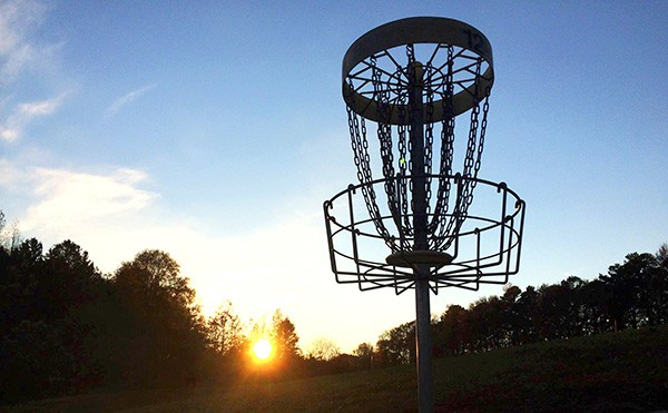 Hole 12 at Eastway Disc Golf Course. (Photo by Andy Goh)