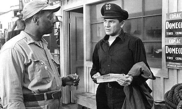 Juano Hernandez and John Garfield in The Breaking Point (Photo: Criterion)
