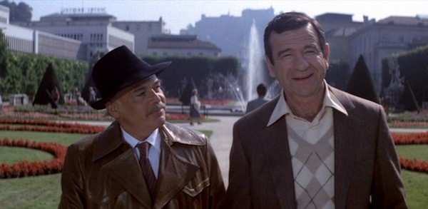 Herbert Lom and Walter Matthau in Hopscotch (Photo: Criterion)