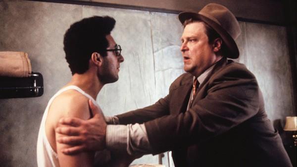 John Turturro and John Goodman in Barton Fink (Photo: Kino)