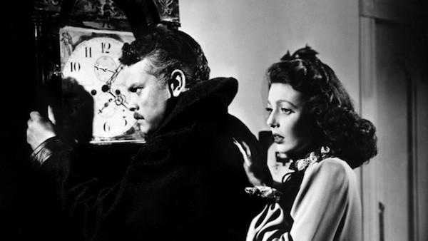 Orson Welles and Loretta Young in The Stranger (Photo: Olive & MGM)