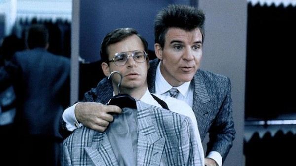 Rick Moranis and Steve Martin in My Blue Heaven (Photo: Warner)