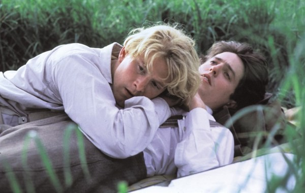 James Wilby and Hugh Grant in Maurice (Photo: Cohen)