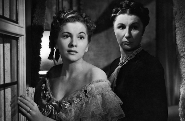 Joan Fontaine and Judith Anderson in Rebecca (Photo: Criterion)