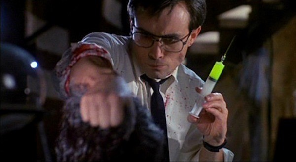 Jeffrey Combs in Re-Animator (Photo: Arrow)