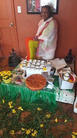 Negussie celebrated the Ethiopian New Year at Abugida on Sept. 10.