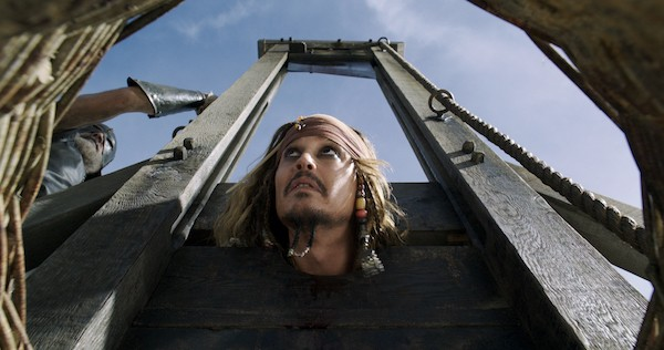 Johnny Depp in Pirates of the Caribbean: Dead Men Tell No Tales (Photo: Disney)
