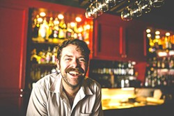 Perry Fowler of Petra's. (Photo by Jessica Henry)