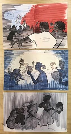 Sketches of Barnhardt.