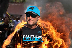An image used in a GoFundMe page that aims to let everyone in Charlotte know how some fans feel about Panthers OC Mike Shula.