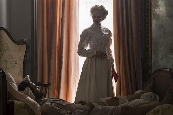 Nicole Kidman and Colin Farrell in The Beguiled (Photo: Universal & Focus)