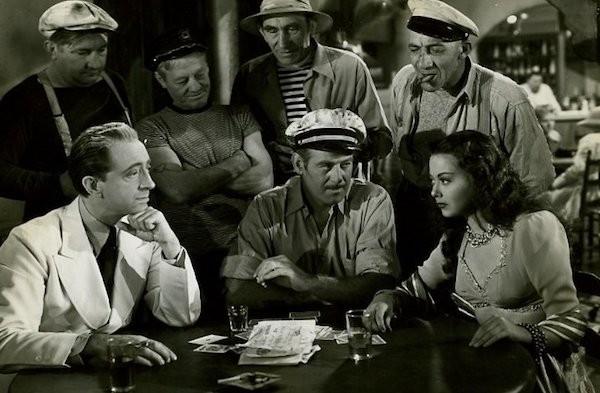 John Abbott (far left) in The Vampire's Ghost (Photo: Olive Films & Paramount)