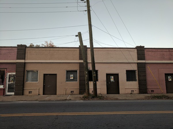 Abandoned storefronts in the 5 Points area will be put in use during 5 Points Better Block. (Photo by Ryan Pitkin)