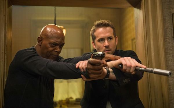 Samuel L. Jackson and Ryan Reynolds in The Hitman's Bodyguard (Photo: Summit)