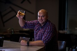 One of Brian Lorusso's cocktails is inspired by one of the first craft cocktails Bob Peters made for him. (Photo by Peter Taylor)
