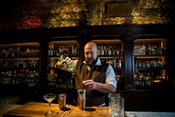 Stefan Huebner says he judges every bartender based on how well they make an Old Fashioned. (Photo by Peter Taylor)