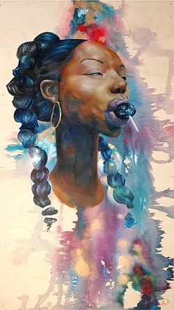 """Lollipop Princess,"" by Sloane Siobhan"