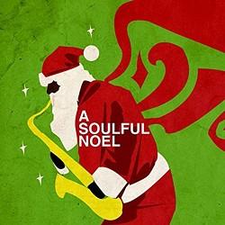 """A Soulful Noel"" album cover."