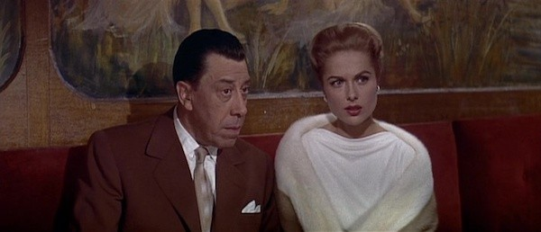 Fernandel and Martha Hyer in Paris Holiday (Photo: Kino)