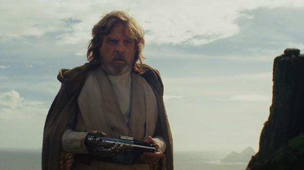 Mark Hamill in Star Wars: The Last Jedi (Photo: Disney)