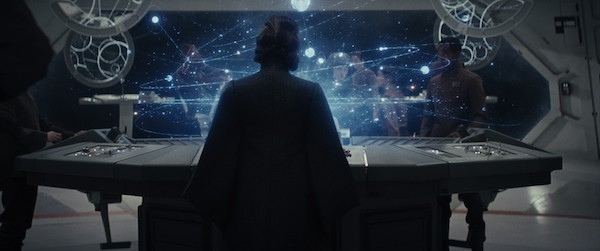 Carrie Fisher in Star Wars: The Last Jedi (Photo: Disney)