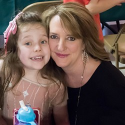 Kim Smith with her daughter, Reagan. (Photo courtesy of Sarah Nelson Conklin)