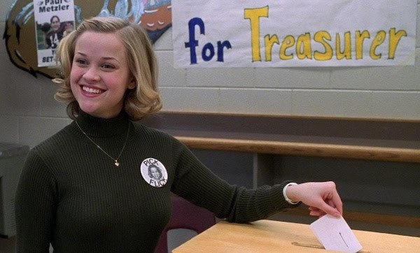 Reese Witherspoon in Election (Photo: Criterion)