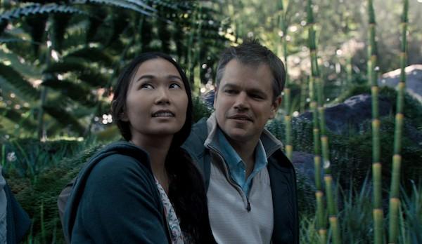 Hong Chau and Matt Damon in Downsizing (Photo: Paramount)