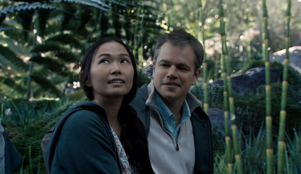 Hong Chau and Matt Damon in Downsizing (Photo: Paramount)