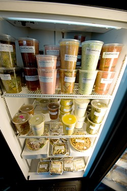 A selection of Beverly's Gourmet Foods.