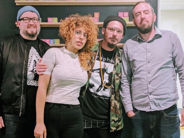 [From left] Will Gilreath, Mike Astrea, Carly Astrea and Ryan Pitkin.