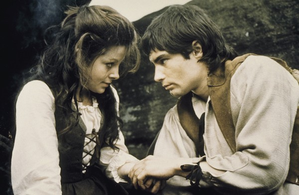 Anna Calder-Marshall and Timothy Dalton in Wuthering Heights (Photo: Twilight Time)